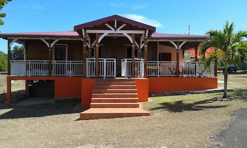 House With 3 Bedrooms in Anse-bertrand, With Enclosed Garden and Wifi, Anse-Bertrand