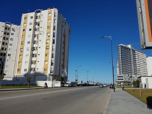 Apartment With 2 Bedrooms in Tanger, With Wonderful sea View and Wifi, Tanger-Assilah
