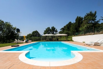 House With one Room in Spoleto, With Wonderful City View, Private Pool