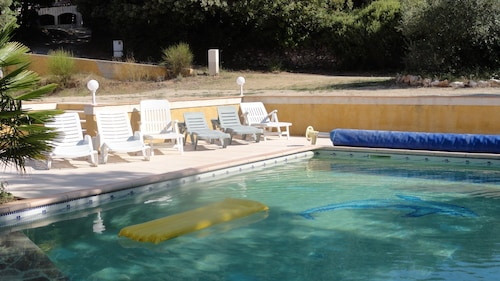 Villa With 3 Bedrooms in Régusse, With Private Pool, Enclosed Garden a, Var