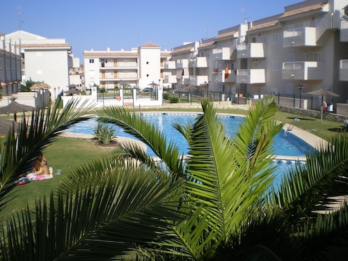 Apartment With 2 Bedrooms in Águilas, With Wonderful Mountain View, Po, Murcia
