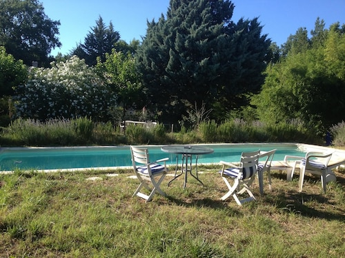House With 2 Bedrooms in Gonfaron, With Wonderful Mountain View, Pool, Var