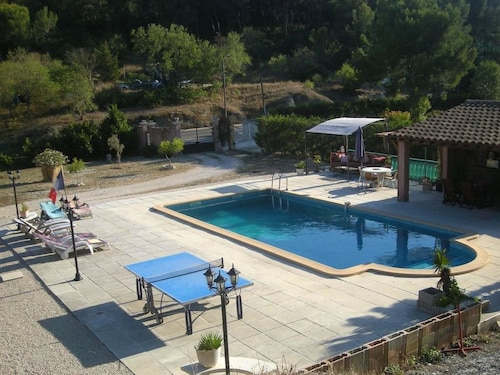 Apartment With 2 Bedrooms in Roquefort-la-bédoule, With Private Pool,, Bouches-du-Rhône