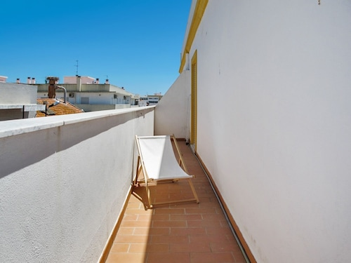 Apartment With 2 Bedrooms in Olhão, With Wonderful City View, Terrace, Olhão