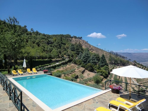 . House With 2 Bedrooms in Torre de Moncorvo, With Wonderful Mountain View, Shared Pool and Enclosed Garden