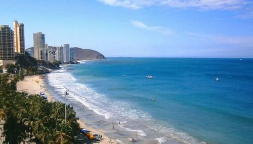 Apartment With 2 Bedrooms in Gaira, Santa Marta, With Wonderful sea Vi, Santa Marta (Dist. Esp.)