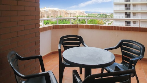 Apartment With 3 Bedrooms in Orpesa, With Wonderful sea View, Pool Acc, Castellón
