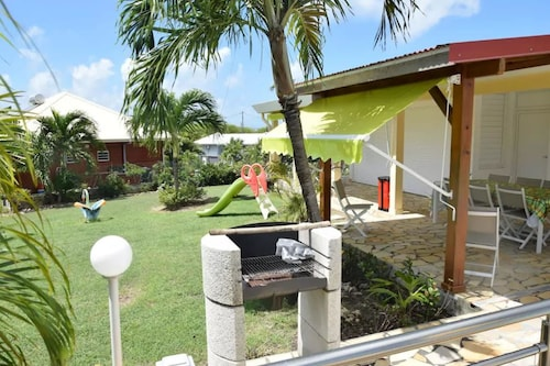 House With 4 Bedrooms in Saint François, With Private Pool, Enclosed G, Saint-François