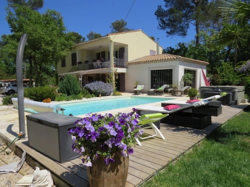 Apartment With 3 Bedrooms in Nans-les-pins, With Wonderful Mountain Vi, Var