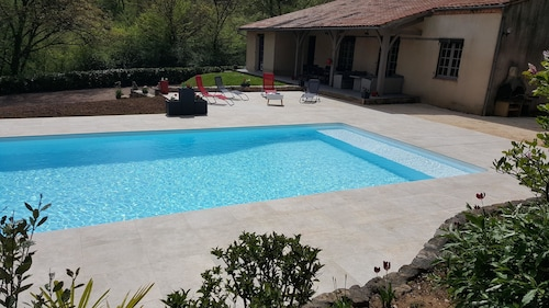 Villa With 3 Bedrooms in Fumel, With Private Pool, Furnished Garden an, Lot-et-Garonne