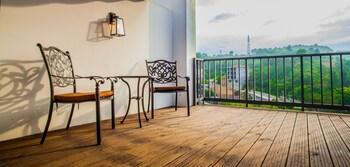 Deluxe Süit, Balkon