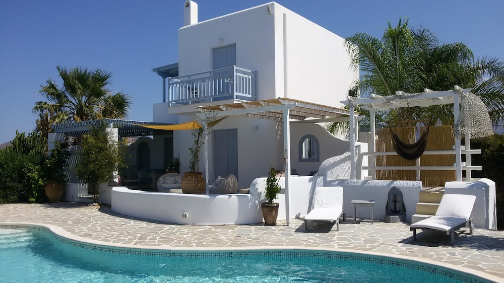 Villa With 4 Bedrooms in Aliko, With Wonderful sea View, Private Pool, Enclosed Garden - 250 m From