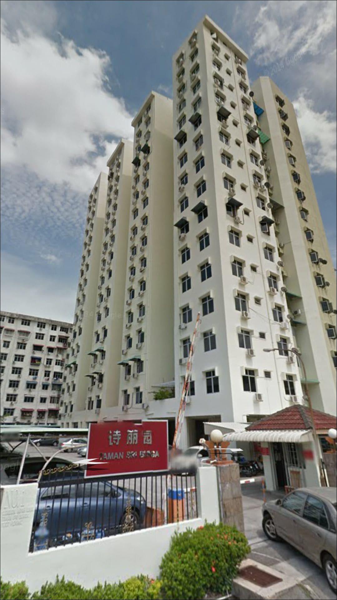 7F, No.2 Taman Sri Bunga Apartment, Pulau Penang