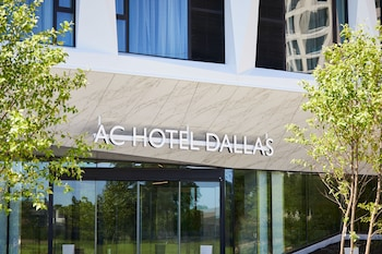 Hotel Entrance at AC Hotel by Marriott Dallas by the Galleria in Dallas