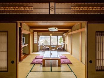 Japanese Style Room, Great view, No Restaurants nearby, Check-in until 6PM