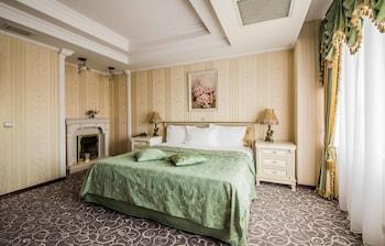Luxury Süit, 2 Yatak Odası, Sauna