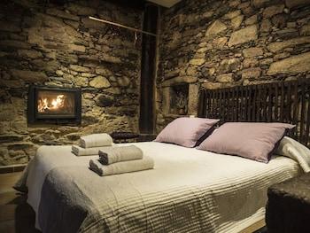 Tek Büyük Yataklı Oda, Şömine