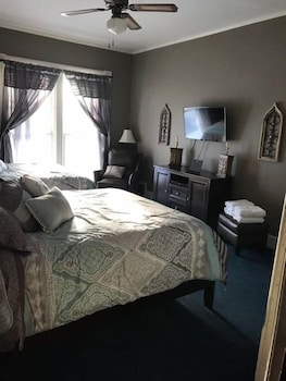 Comfort Büyük Yataklı Tek Kişilik Oda, 2 Büyük (queen) Boy Yatak, Ortak Banyo, Avlu