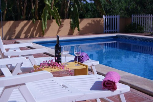 House With 4 Bedrooms in Benifayó, With Wonderful sea View, Private Po, Valencia