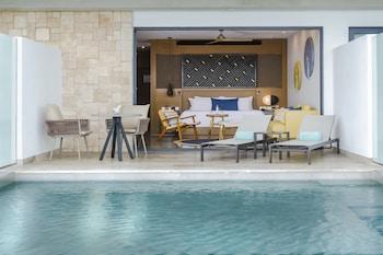 Junior Süit, 1 En Büyük (king) Boy Yatak, Bahçe Manzaralı (swim Out)
