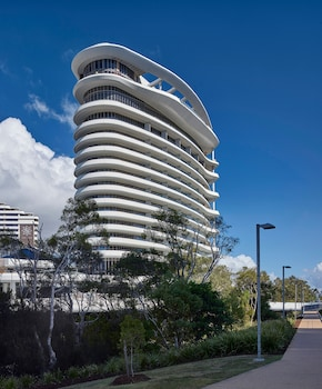 Exterior detail at The Darling at The Star Gold Coast in Broadbeach
