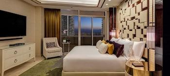 Deluxe Çatı Katı Süiti (penthouse), 2 Yatak Odası, Sigara İçilmez, Okyanus Manzaralı (media Suite)