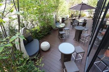 OSAKA VIEW HOTEL HONMACHI Terrace/Patio