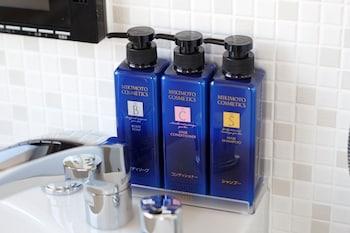 OSAKA VIEW HOTEL HONMACHI Bathroom Amenities