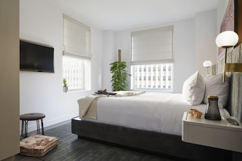 Guestroom at The Assemblage John Street in New York