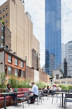 Terrace/Patio at The Assemblage John Street in New York