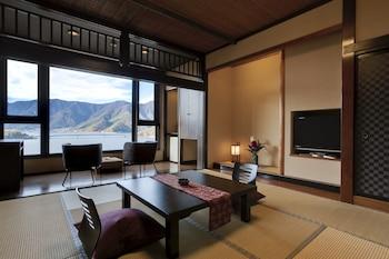和室 2人部屋 レイクビュー 7歳以上宿泊可能 富士河口湖温泉 時悠々楽游
