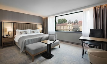 Deluxe Room, 1 King Bed, View (Cathedral View)