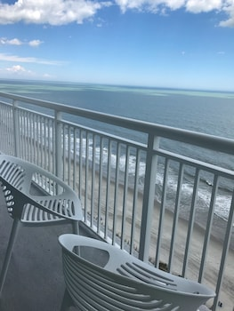 Balcony View at South Bay Inn & Suites in Myrtle Beach