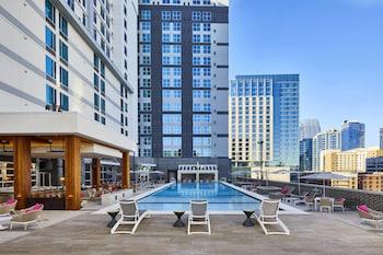 納許維爾市中心/會議中心萬豪春季山丘套房飯店 SpringHill Suites by Marriott Nashville Downtown/Convention Center