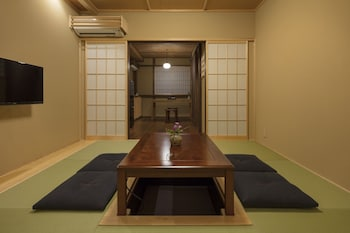 YADORU KYOTO HANARE GOJO TAKASE-AN Living Area