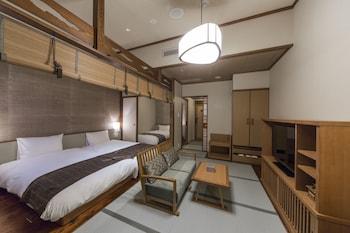 檜内風呂付 和洋室 36平米 3名定員|いにしえの宿 佳雲