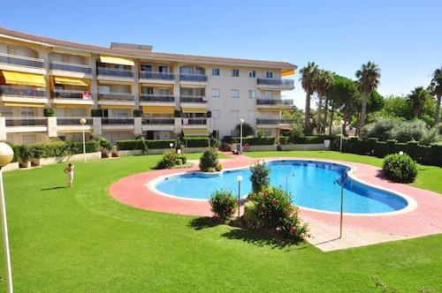 Apartamento Vista al Jardin Para 6 Personas en Cambrils, Tarragona