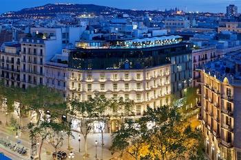 Hotel Condes de Barcelona - Aerial View