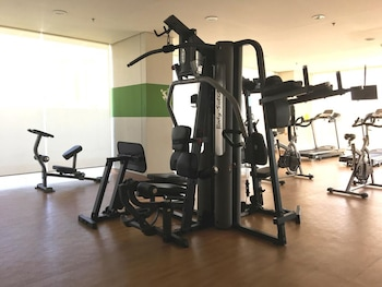 LUXURY SCANDINAVIAN STUDIO @ THE PEARL PLACE Gym