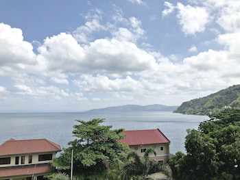 BONTOC SEAVIEW GUESTHOUSE View from Property