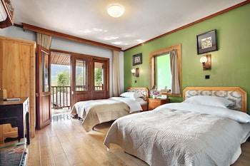 Standard İki Ayrı Yataklı Oda, Birden Çok Yatak, Balkon, Dağ Yamacı