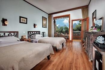 Superior İki Ayrı Yataklı Oda, Birden Çok Yatak, Teras, Nehir Manzaralı