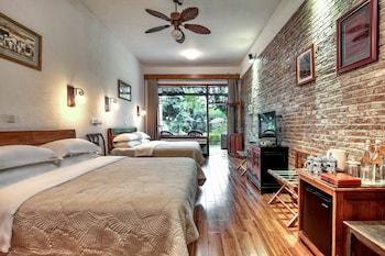Standard Tek Büyük Yataklı Oda, 2 Büyük (queen) Boy Yatak, Teras, Nehir Manzaralı