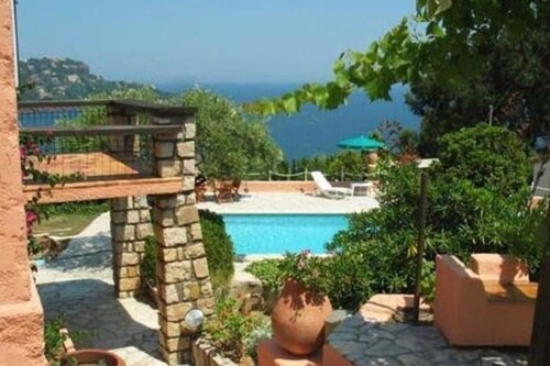 Villa With 4 Bedrooms in Saint-raphaël, With Wonderful sea View, Priva, Var