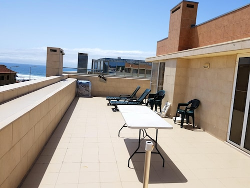 . Apartment With 2 Bedrooms in Vila do Conde, With Wonderful sea View, Furnished Balcony and Wifi - 200 m From the Beach