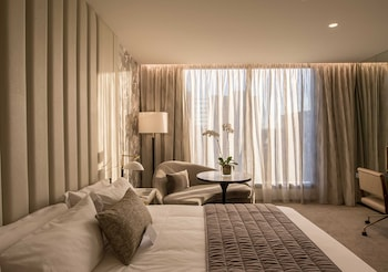 Guestroom at Emporium Hotel South Bank in South Brisbane