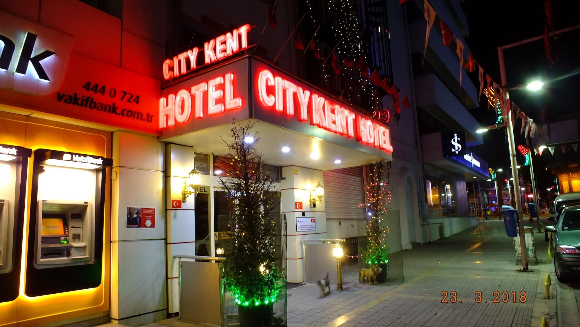 City Kent Hotel, Merkez