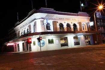 Hotel Front - Evening/Night at North Sydney Hotel in North Sydney