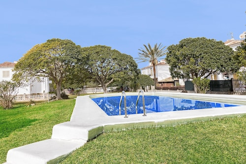 . Apartment With 3 Bedrooms in Alcúdia, With Wonderful Lake View, Shared Pool, Enclosed Garden - 200 m From the Beach