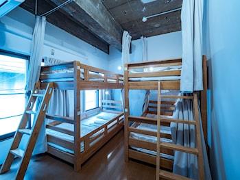 エコノミー 共同ドミトリー 男女共用ドミトリー 禁煙 (Room #202)|14㎡|Hostel KAG